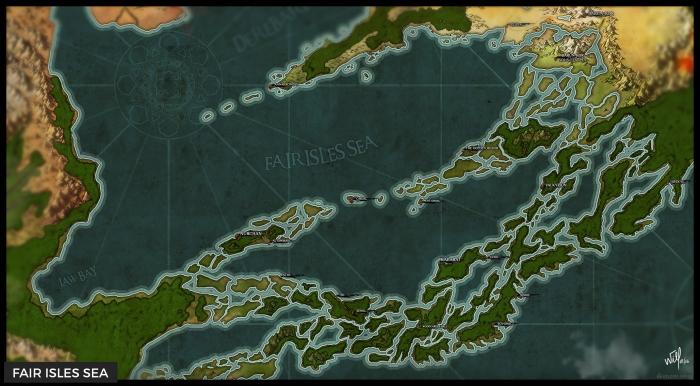 The Fair Isles Sea