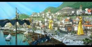 The City of Golden Island.