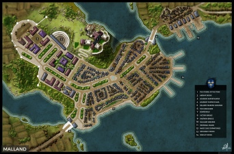 Malland, City of the Tome